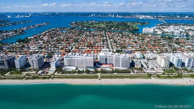 9001 Collins Ave S-908, Surfside, FL 33154 (MLS #A11038657) :: GK Realty Group LLC