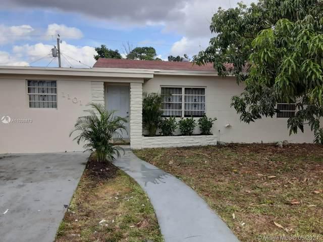 1101 NW 145th Ter, Miami, FL 33168 (MLS #A11038873) :: Dalton Wade Real Estate Group