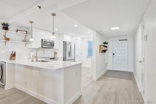 3499 Oaks Way #1008, Pompano Beach, FL 33069 (#A11038877) :: Posh Properties