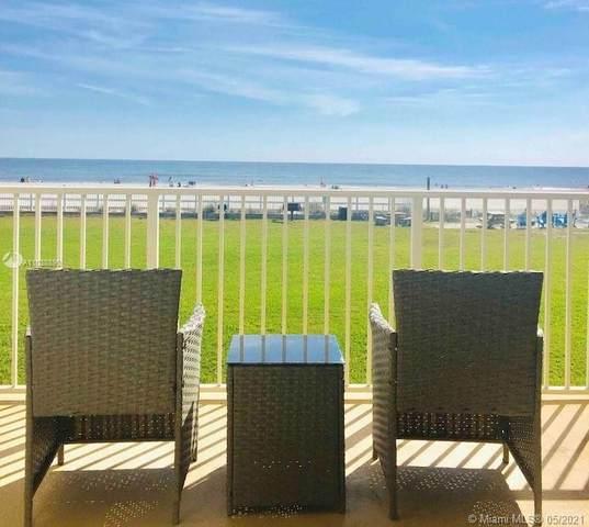 390 NE A1a Beach Blvd #9, St Augustine, FL 32080 (MLS #A11038890) :: Equity Realty