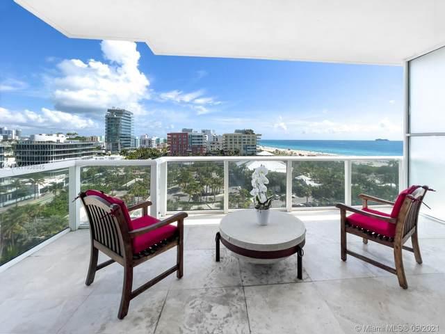 50 S Pointe Dr #1007, Miami Beach, FL 33139 (MLS #A11038945) :: The Rose Harris Group