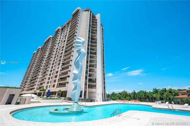 1800 NE 114th St #1503, Miami, FL 33181 (MLS #A11039040) :: Dalton Wade Real Estate Group