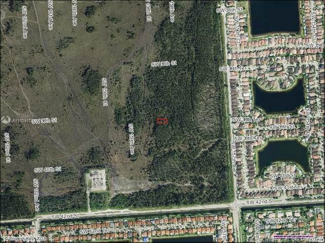 SW 39 ST & SW 158 COURT, Miami, FL 33185 (MLS #A11039173) :: Equity Realty