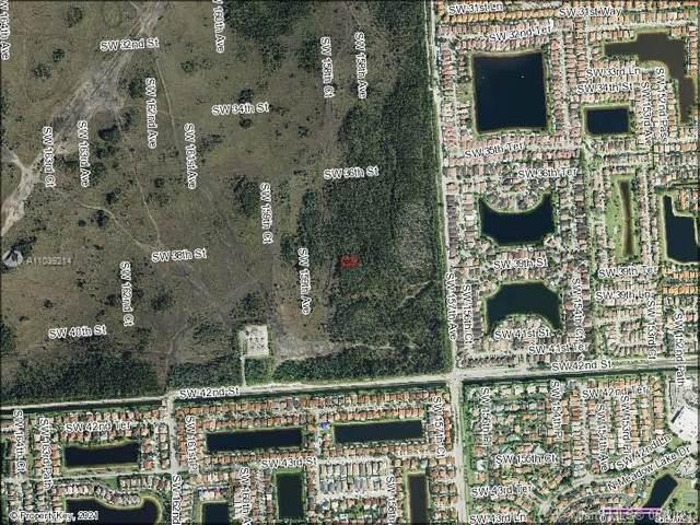 SW 38 ST & SW SW 158 COURT, Miami, FL 33185 (MLS #A11039214) :: Equity Realty