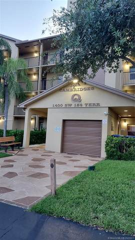1400 SW 124th Ter 301Q, Pembroke Pines, FL 33027 (MLS #A11039353) :: Compass FL LLC