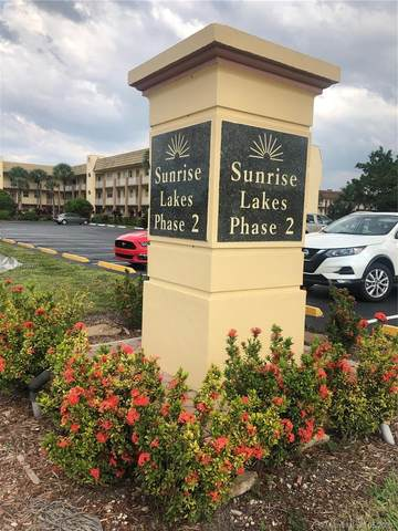 8350 Sunrise Lakes Blvd #104, Sunrise, FL 33322 (MLS #A11039372) :: The Rose Harris Group