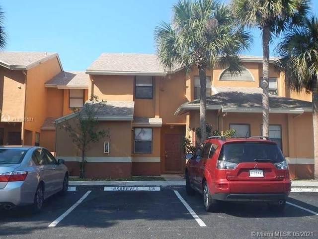 2481 NW 56th Ave 9-16, Lauderhill, FL 33313 (MLS #A11039521) :: Equity Realty
