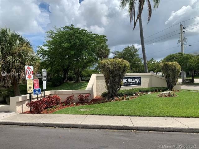 1708 NW 81st Way #1708, Plantation, FL 33322 (MLS #A11039537) :: Berkshire Hathaway HomeServices EWM Realty