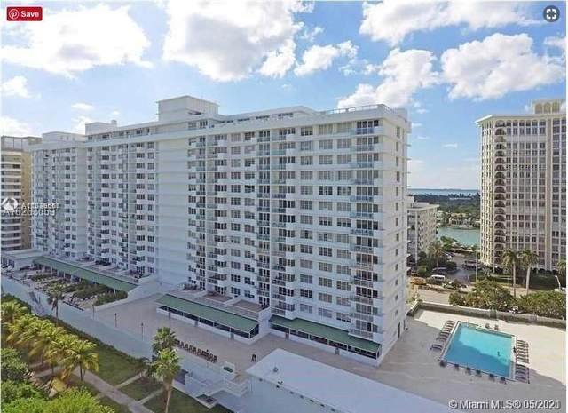 5601 Collins Ave #809, Miami Beach, FL 33140 (MLS #A11039666) :: Berkshire Hathaway HomeServices EWM Realty