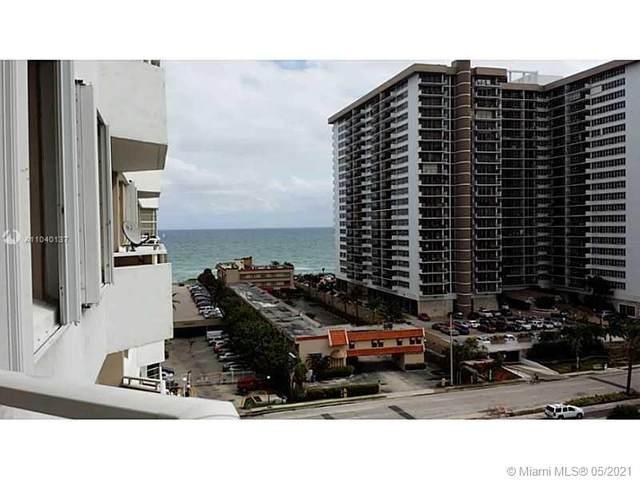 1985 S Ocean Dr 8J, Hallandale Beach, FL 33009 (MLS #A11040137) :: Compass FL LLC