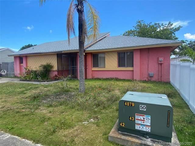 12250 SW 207th Ter, Miami, FL 33177 (#A11040152) :: Posh Properties