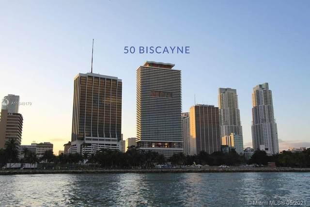 50 Biscayne Blvd #2202, Miami, FL 33132 (#A11040179) :: Posh Properties