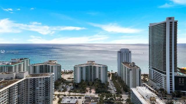 3901 S Ocean Dr 12R, Hollywood, FL 33019 (#A11040222) :: Posh Properties