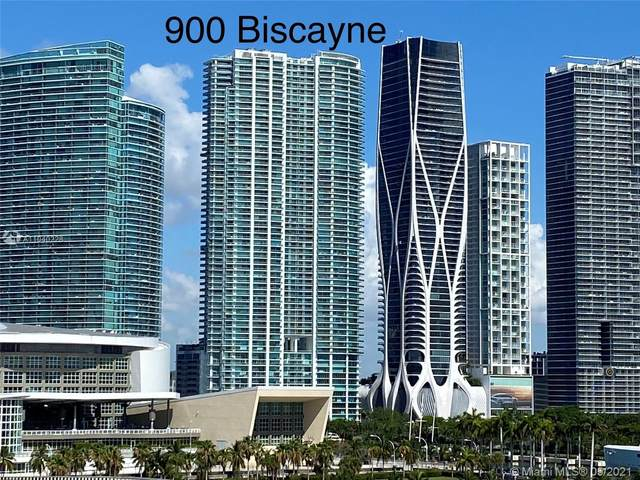 900 Biscayne Blvd #3401, Miami, FL 33132 (MLS #A11040228) :: Compass FL LLC