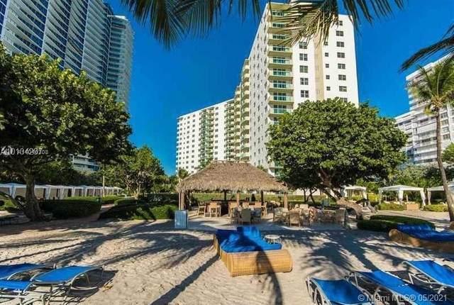 3001 S Ocean Dr #801, Hollywood, FL 33019 (#A11040308) :: Posh Properties