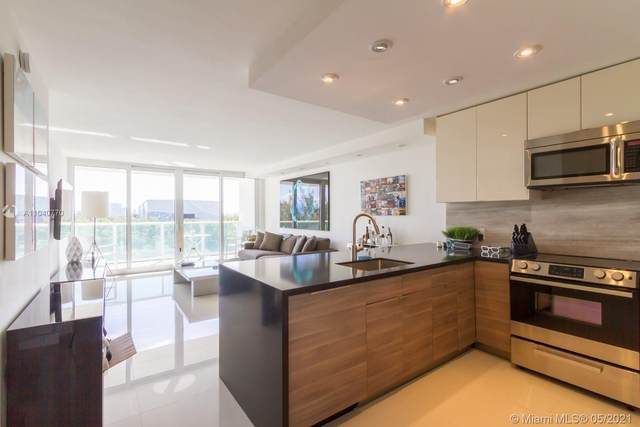 100 Bayview Dr #523, Sunny Isles Beach, FL 33160 (MLS #A11040770) :: The Howland Group