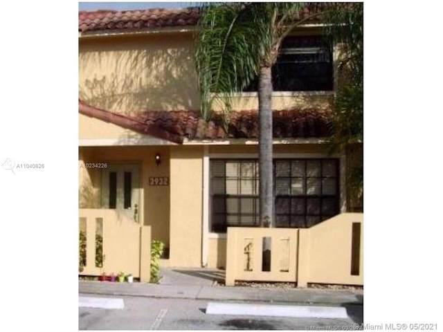 3932 NW 94th Way #3932, Sunrise, FL 33351 (MLS #A11040826) :: Berkshire Hathaway HomeServices EWM Realty