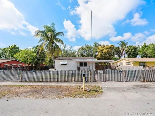 1450 NW 112th St, Miami, FL 33167 (MLS #A11040874) :: Team Citron