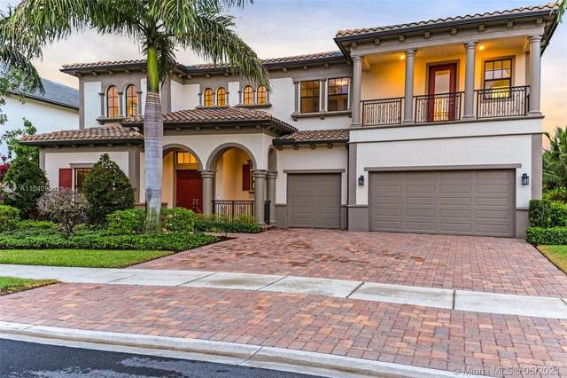 8171 Grand Prix Ln, Boynton Beach, FL 33472 (#A11040906) :: Posh Properties