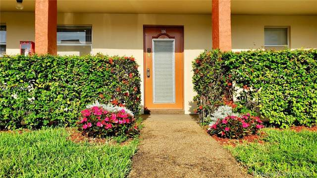 2871 E Sunrise Lakes Dr #106, Sunrise, FL 33322 (MLS #A11040948) :: Berkshire Hathaway HomeServices EWM Realty