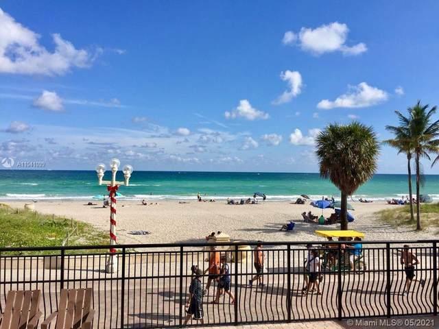 1815 N Surf Rd #202, Hollywood, FL 33019 (MLS #A11041099) :: The Rose Harris Group