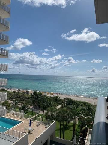 6039 Collins Ave #701, Miami Beach, FL 33140 (#A11041254) :: Posh Properties