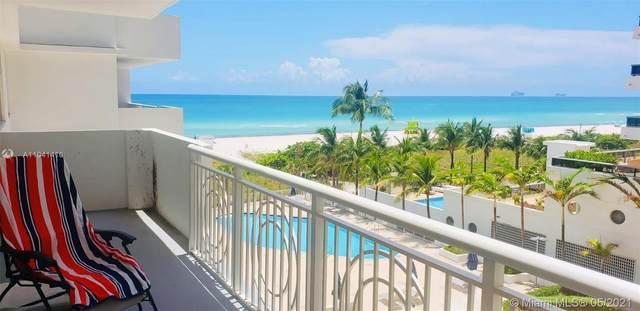 5825 Collins Ave 5H, Miami Beach, FL 33140 (#A11041410) :: Dalton Wade