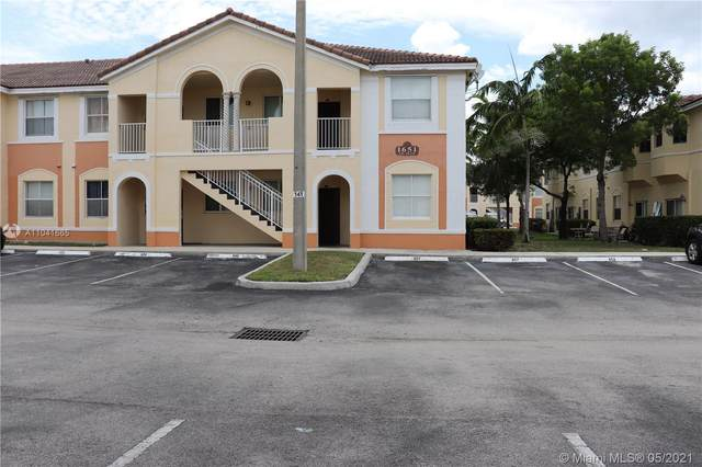 1651 SE 28th Ct #105, Homestead, FL 33035 (MLS #A11041665) :: The Riley Smith Group