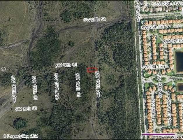 SW 28 ST & SW Sw 158 Ave, Miami, FL 33185 (MLS #A11041888) :: Compass FL LLC