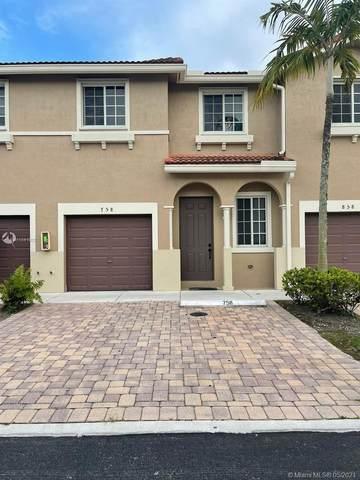 21129 NW 14th Pl #7, Miami Gardens, FL 33169 (MLS #A11041970) :: Berkshire Hathaway HomeServices EWM Realty