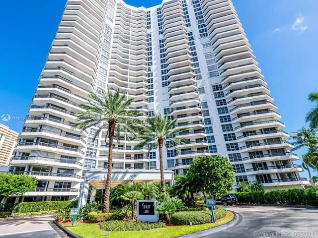 19195 Mystic Pointe Dr #205, Aventura, FL 33180 (#A11042432) :: Posh Properties