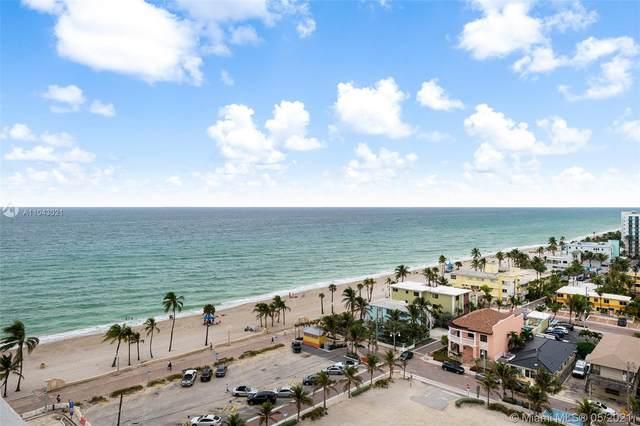 3111 N Ocean Dr #1411, Hollywood, FL 33019 (MLS #A11043021) :: Castelli Real Estate Services