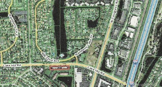 2100 Lake Ida Rd, Delray Beach, FL 33445 (MLS #A11043132) :: Search Broward Real Estate Team