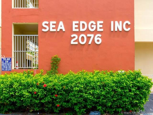 2076 S Ocean Dr #106, Hallandale Beach, FL 33009 (MLS #A11043157) :: Team Citron