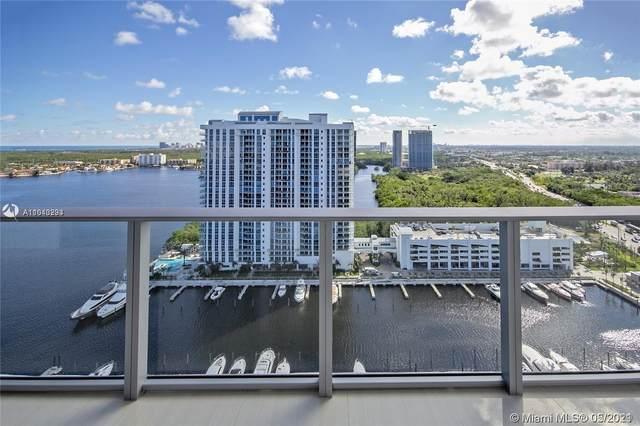 17301 Biscayne Blvd #2301, North Miami Beach, FL 33160 (MLS #A11043293) :: Castelli Real Estate Services