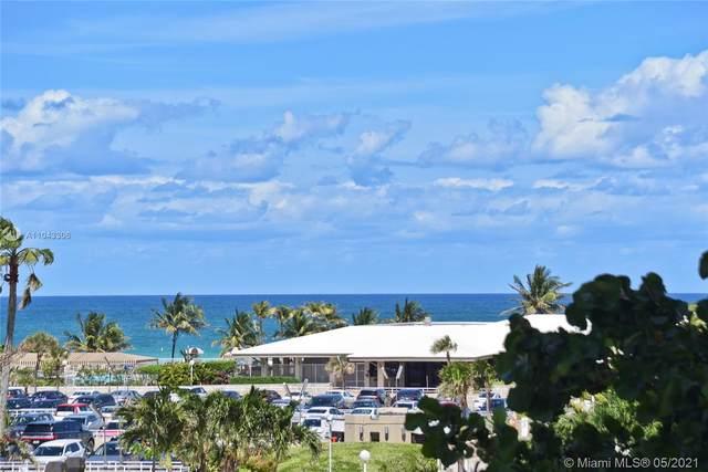 1985 S Ocean Dr 3M, Hallandale Beach, FL 33009 (MLS #A11043306) :: Carlos + Ellen