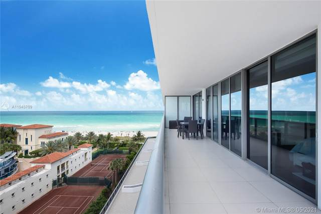 5875 Collins Ave #907, Miami Beach, FL 33140 (MLS #A11043709) :: The Rose Harris Group