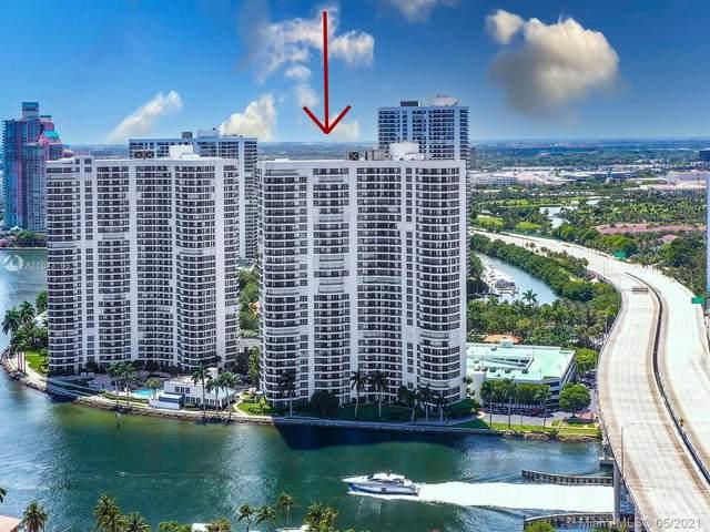 19195 Mystic Pointe Dr #709, Aventura, FL 33180 (#A11043768) :: Posh Properties