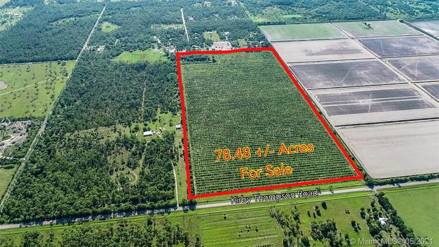 0 Kirby Thompson Road, Other City - In The State Of Florida, FL 33935 (MLS #A11043888) :: The MPH Team