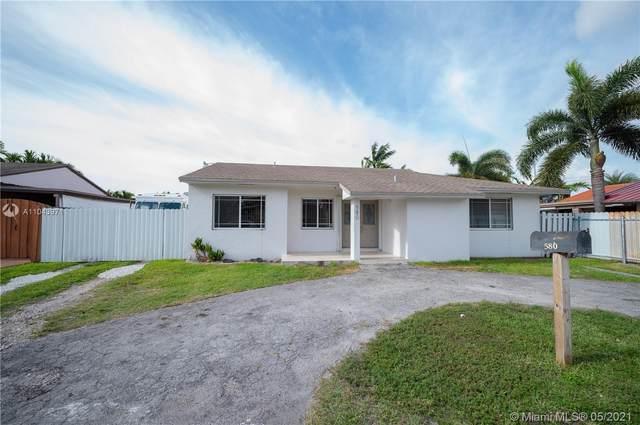 580 W 79th St, Hialeah, FL 33014 (MLS #A11043971) :: Team Citron