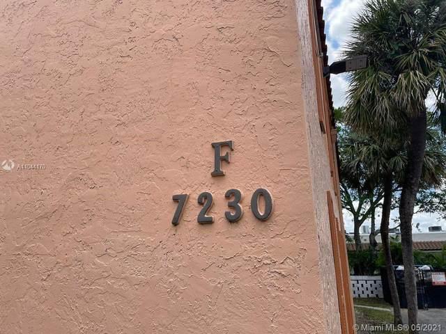 7230 Fairway Dr F6, Miami Lakes, FL 33014 (MLS #A11044170) :: Albert Garcia Team