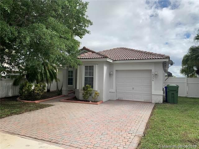 16256 NW 24th St, Pembroke Pines, FL 33028 (MLS #A11044486) :: Berkshire Hathaway HomeServices EWM Realty