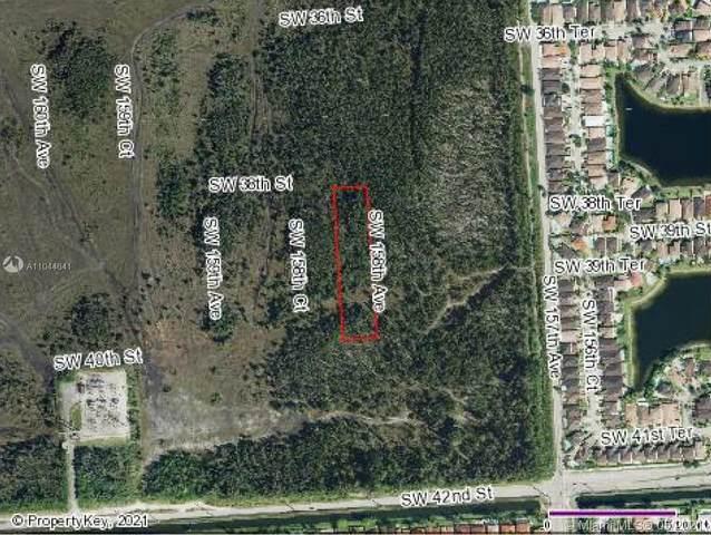 SW 38 ST & SW SW 158 AVE, Miami, FL 33185 (MLS #A11044641) :: GK Realty Group LLC