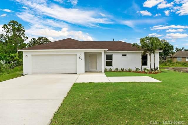 206 SW Thornhill Dr, Port Saint Lucie, FL 34984 (MLS #A11045321) :: Douglas Elliman
