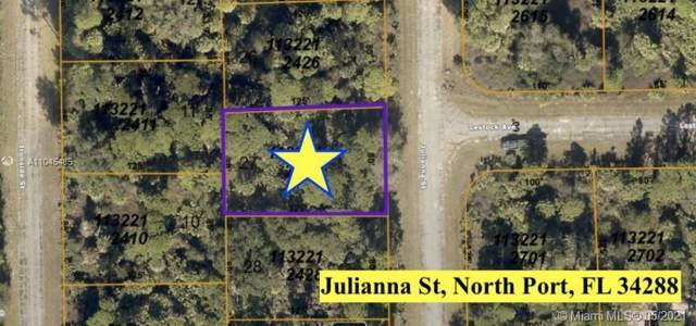 LOT 27 Julianna St, North Port, FL 34288 (MLS #A11045485) :: Onepath Realty - The Luis Andrew Group