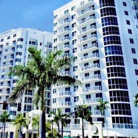 1830 Radius Dr #418, Hollywood, FL 33020 (MLS #A11045597) :: The Howland Group
