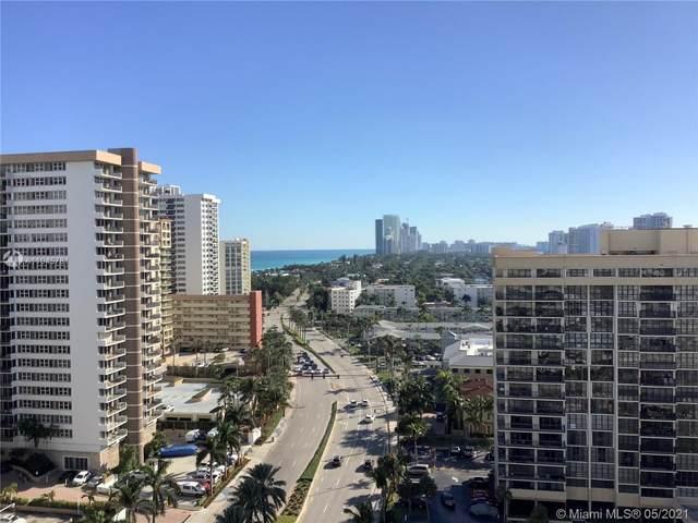 1985 S Ocean Dr 16Q, Hallandale Beach, FL 33009 (MLS #A11045781) :: Carlos + Ellen