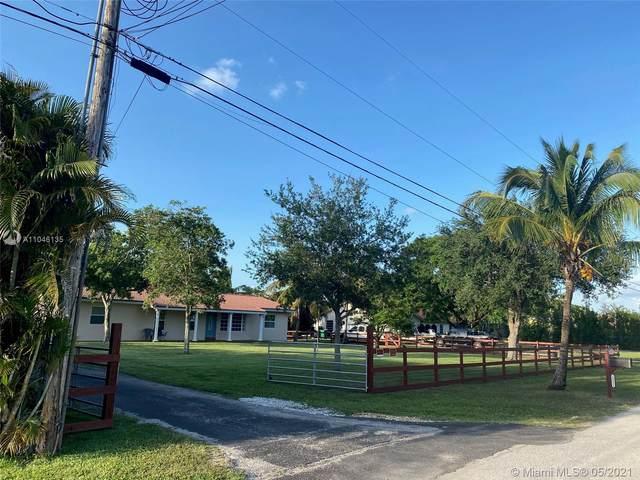 14631 SW 16th St, Davie, FL 33325 (MLS #A11046135) :: Team Citron
