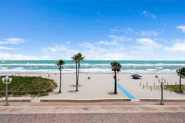 1751 N Surf Rd 3A, Hollywood, FL 33019 (MLS #A11046377) :: The Paiz Group