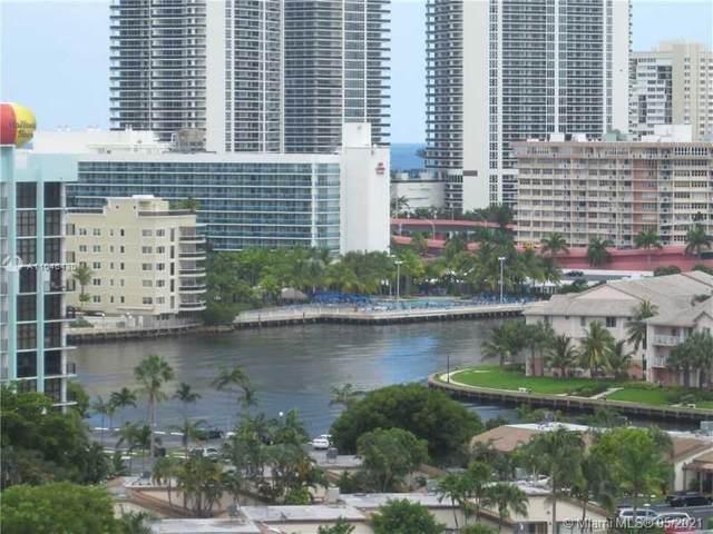 2500 E Parkview Dr #1404, Hallandale Beach, FL 33009 (#A11046430) :: Posh Properties
